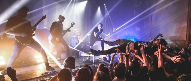 Architects, Stick to Your Guns, Bury Tomorrow, Roxy, Praha, 31.10.2016 (fotogalerie)