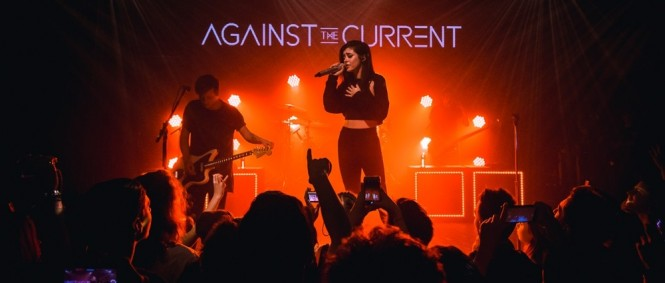 Against the Current, Hunger, Lucerna Music Bar, Praha, 3.3.2017 (fotogalerie)