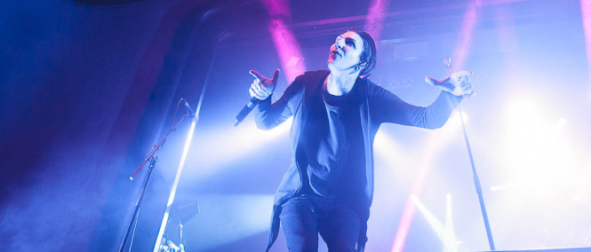 Motionless in White, Cane Hill, Ice Nine Kills, Columbia Theater, Berlín, 6.2.2018 (fotogalerie)