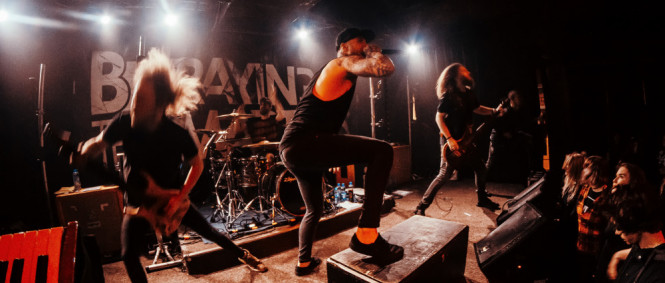Betraying The Martyrs, Modern Day Babylon, From Sorrow To Serenity, Nová Chmelnice, Praha, 18.3.2018 (fotogalerie)