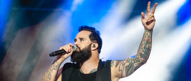 Rock for People den III., Volbeat, Skillet, Sick Puppies, Stick to Your Guns, Stray From the Path, Gaia Mesiah, Hradec Králové, 6.7.2018 (fotogalerie)