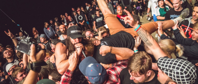 FajtFest den II., Emmure, Get the Shot, Betraying the Martyrs, Emmet Brown, Shadow Area, Of Virtue, The Royal, Landless, Stercore, Victims, Madafaka, 13.7.2017 (fotogalerie)
