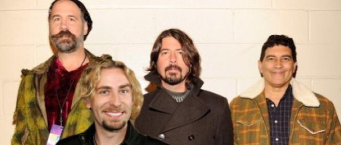 Nirvana reunion + Chad Kroeger = Nickelvana