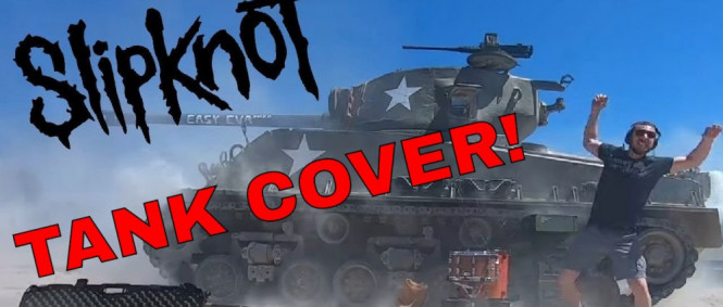 SLIPKNOT TANK COVER (People=Sh*t)