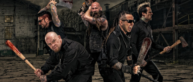 PÁTEČNÍ BORDEL (2): Five Finger Death Punch, Fever 333, Hands Like Houses, Kingdom of Giants, Will Shake