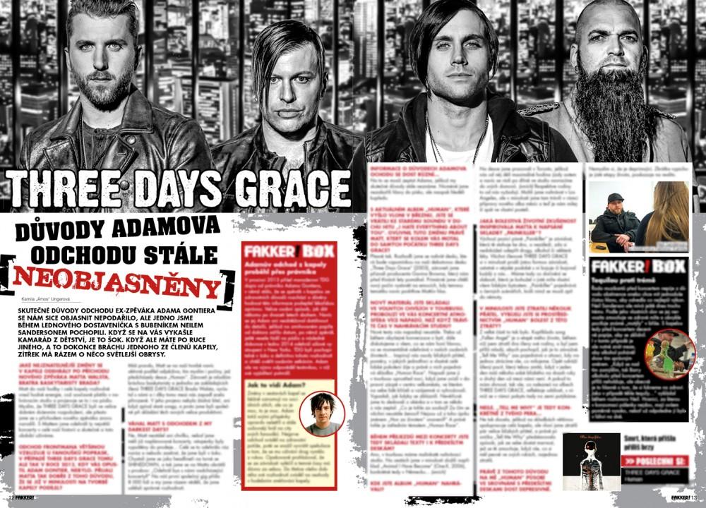 Three Days Grace FAKKER