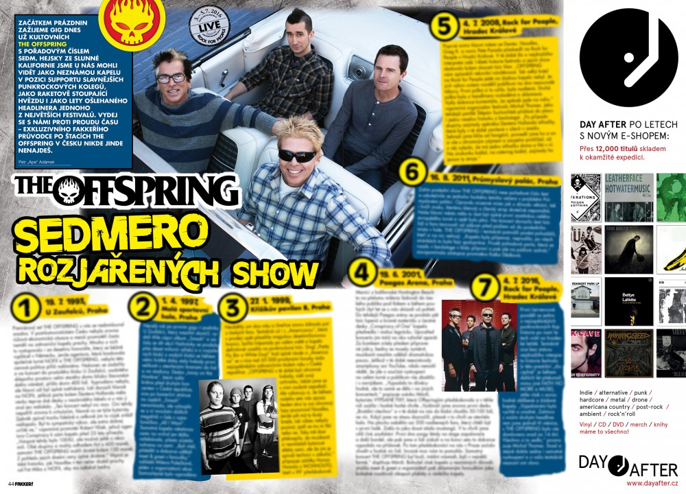 The Offspring F!