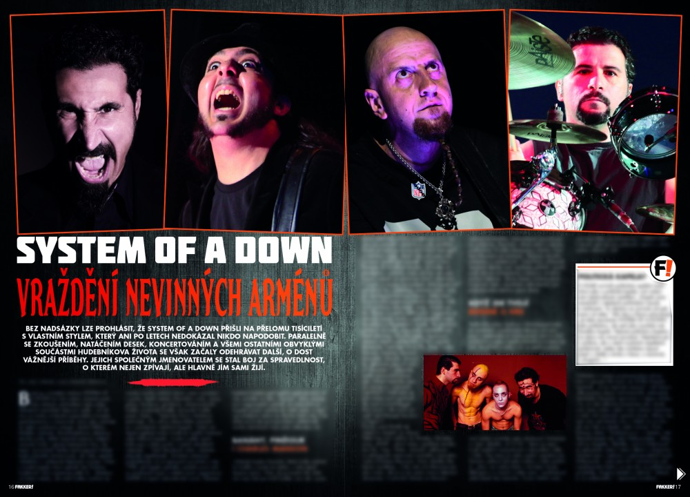 System of a Down F!