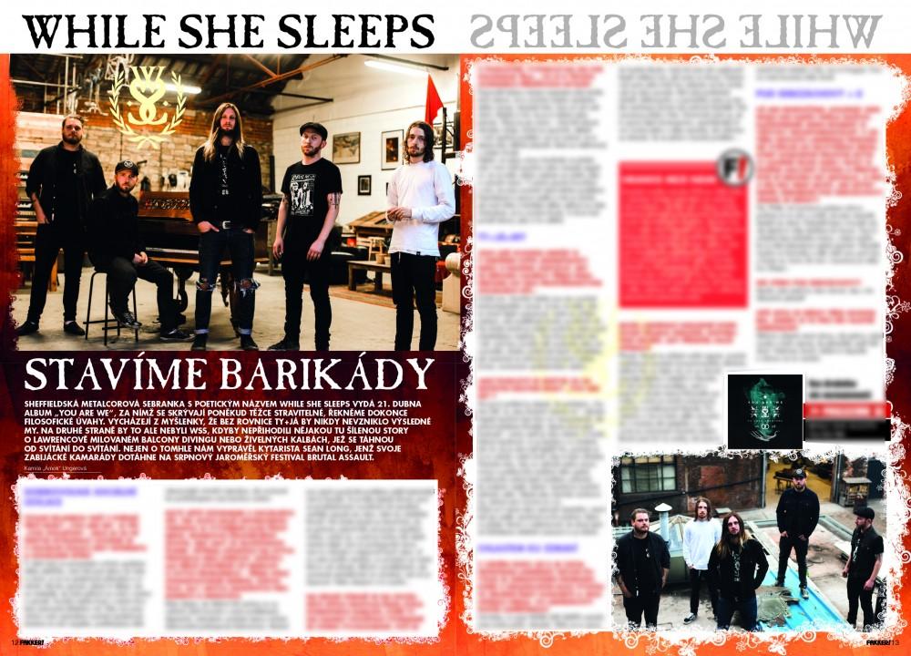 While She Sleeps F!