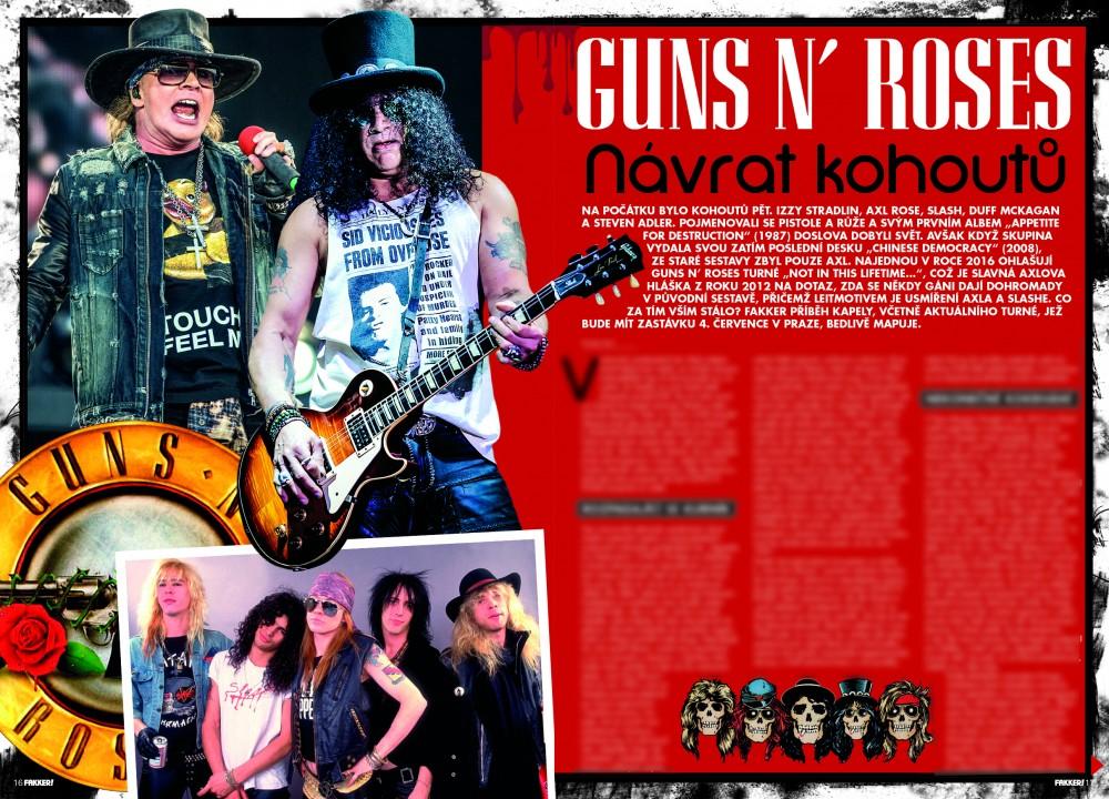 Guns N' Roses F!