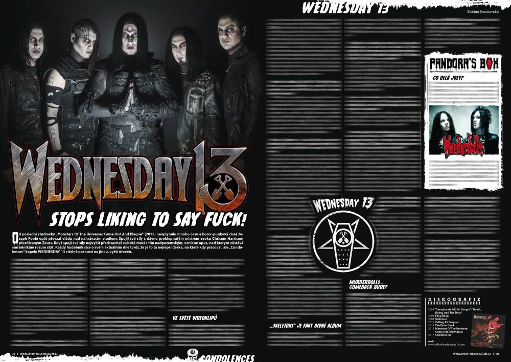 Wednesday 13 Spark