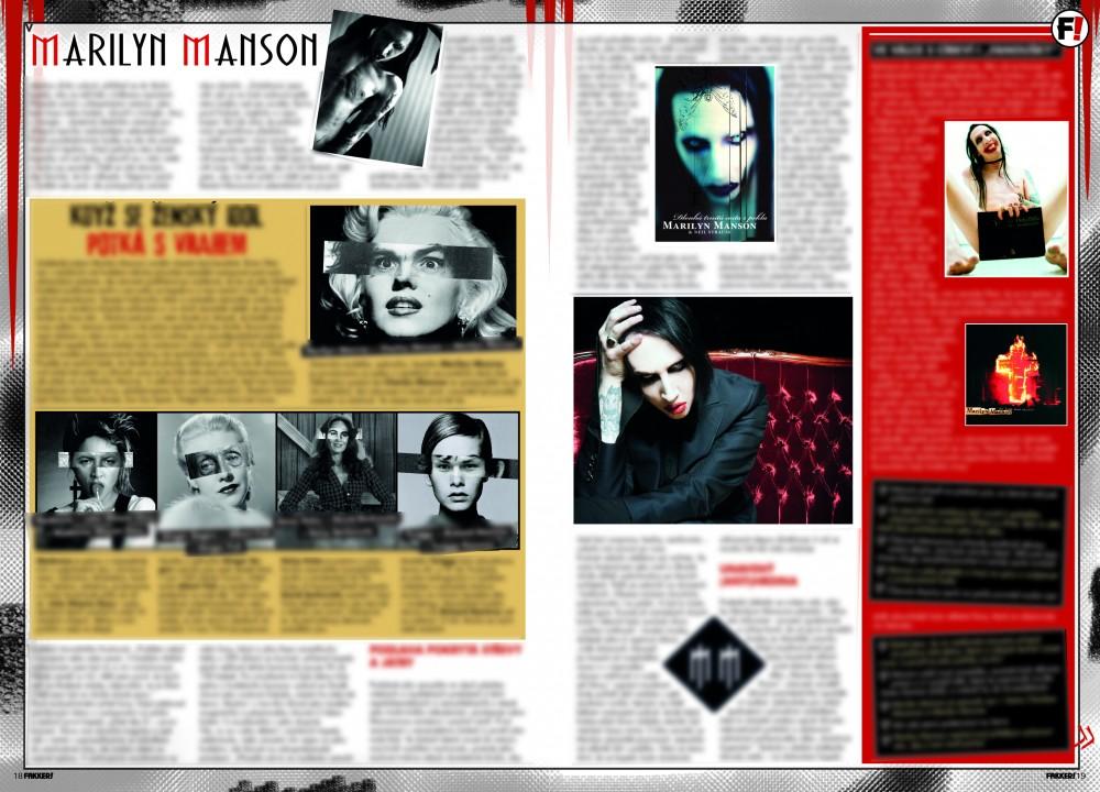 Marilyn Manson F!