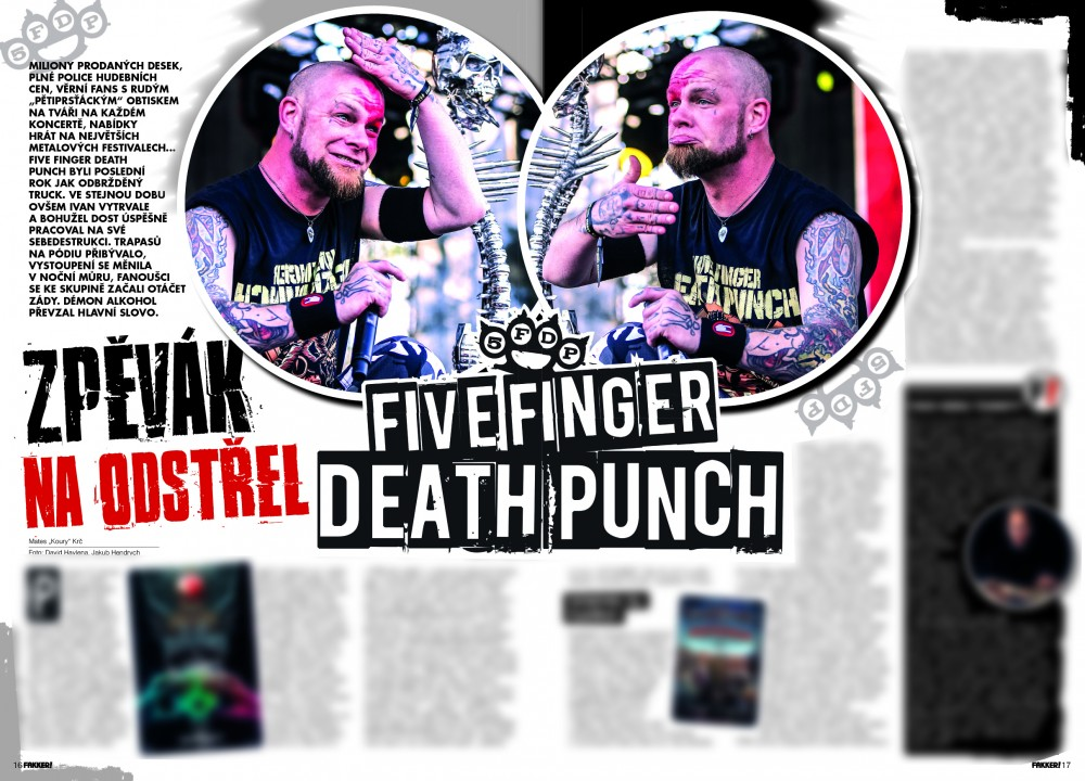 Five Finger Death Punch F!