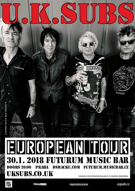 UK Subs poster 2018