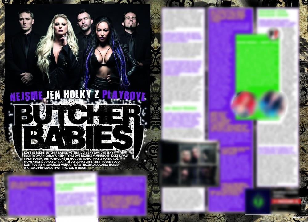 Butcher Babies F!