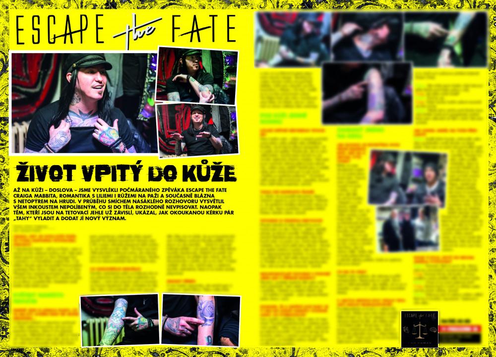 Escape the Fate F!