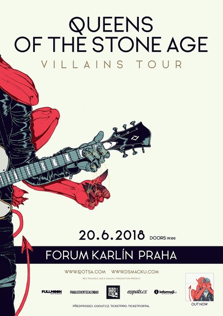Queens of the Stone Age POSTER 2018