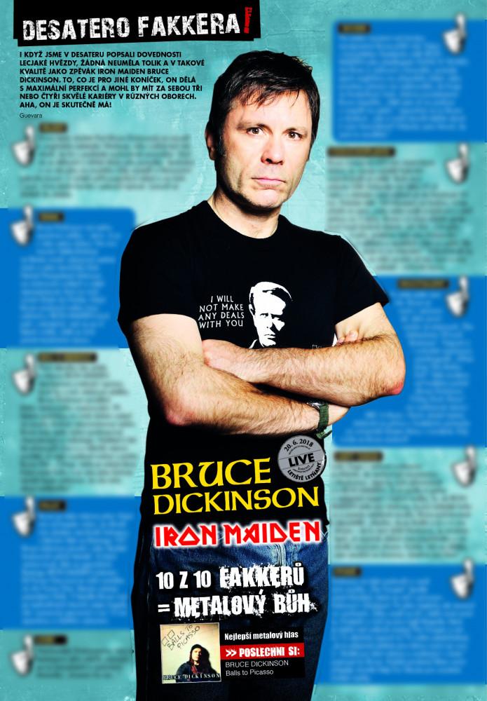 Bruce Dickinson F!