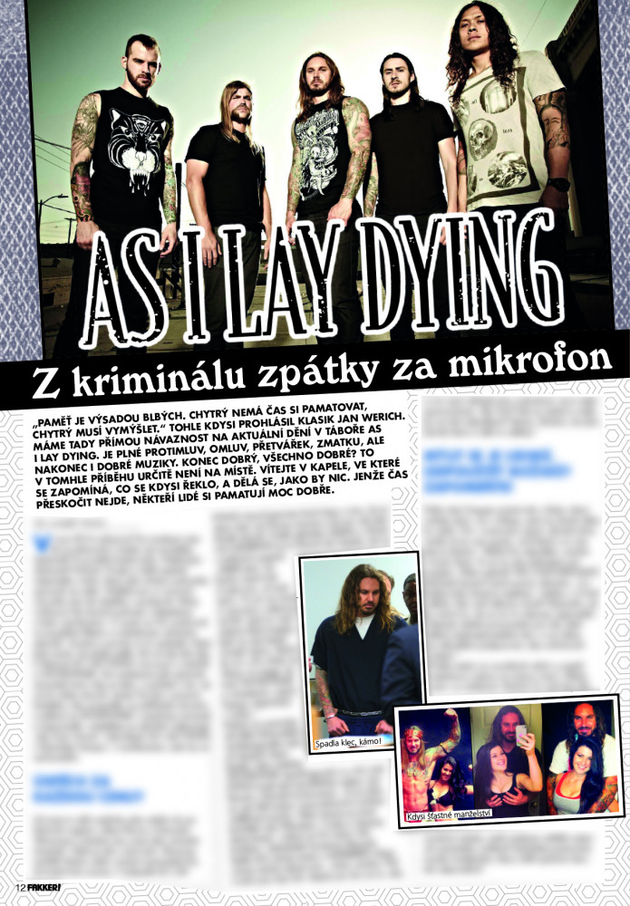 As I Lay Dying F!