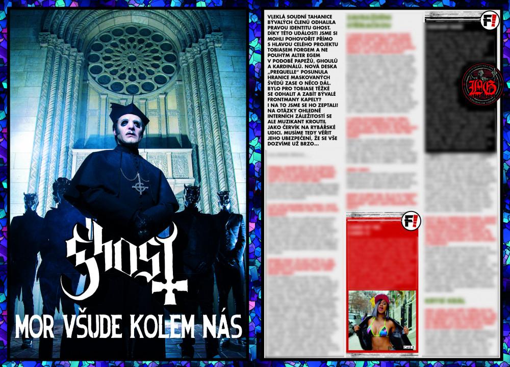 Ghost F! článek