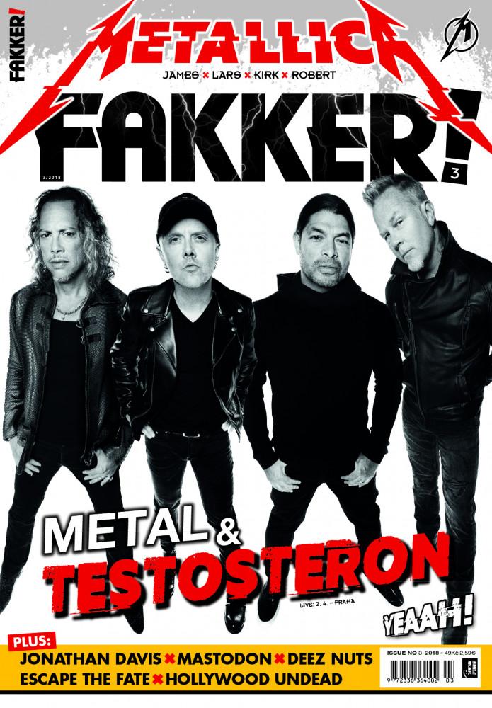 Metallica F! titulka
