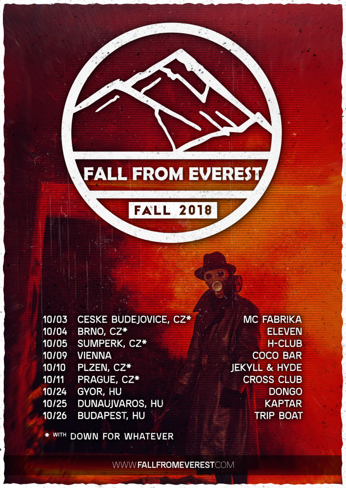 Fall From Everest tour 2018