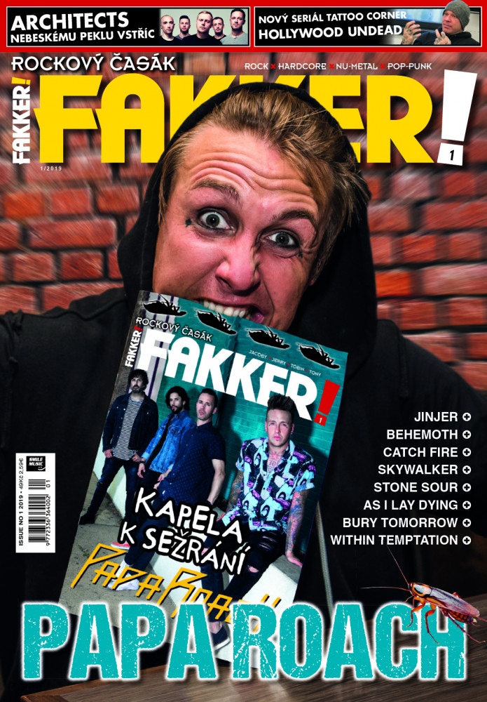 Papa Roach F! titulka