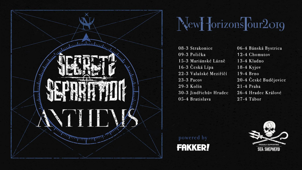 Anthems, Secrets of Separation tour