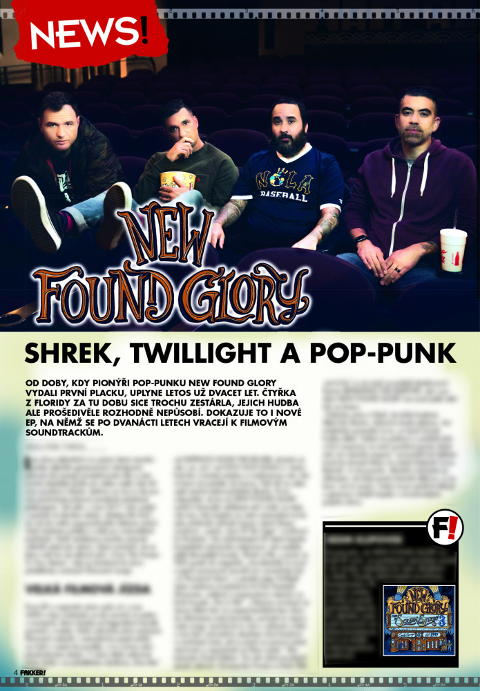 New Found Glory F!