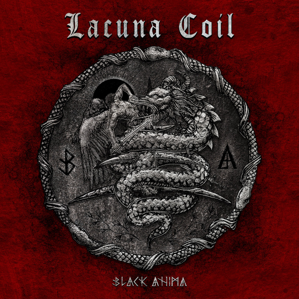 Lacuna Coil Black Anima CD cover