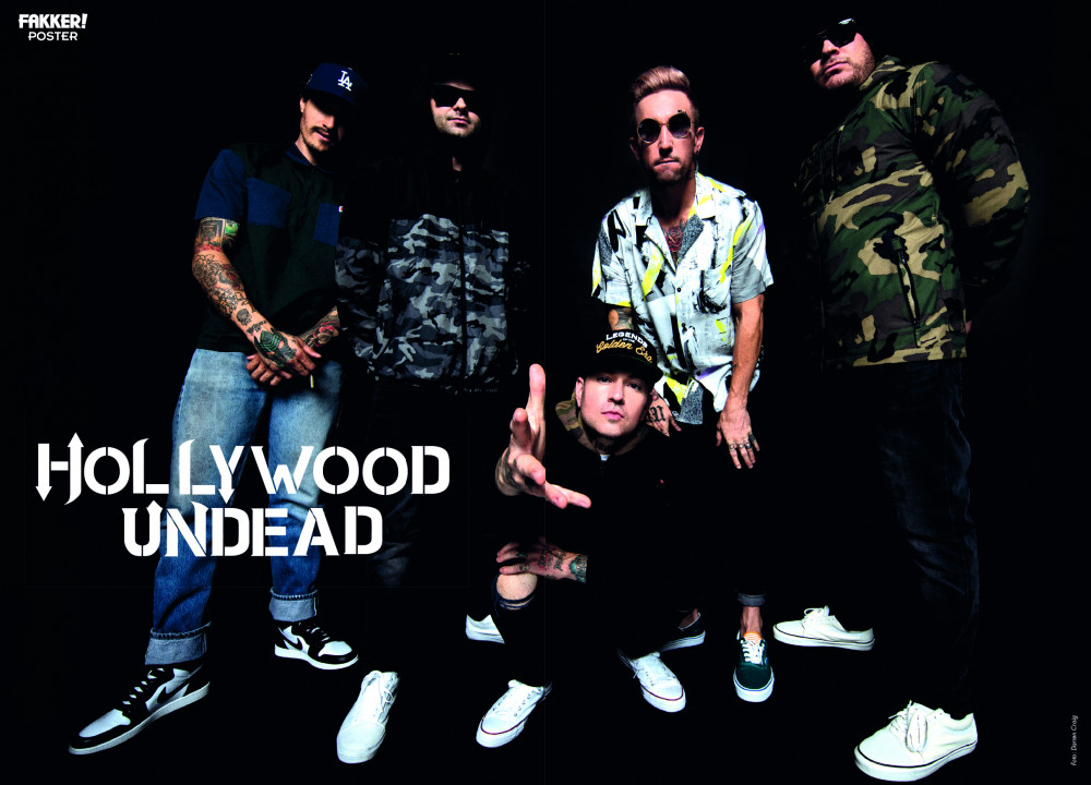 Hollywood Undead poster
