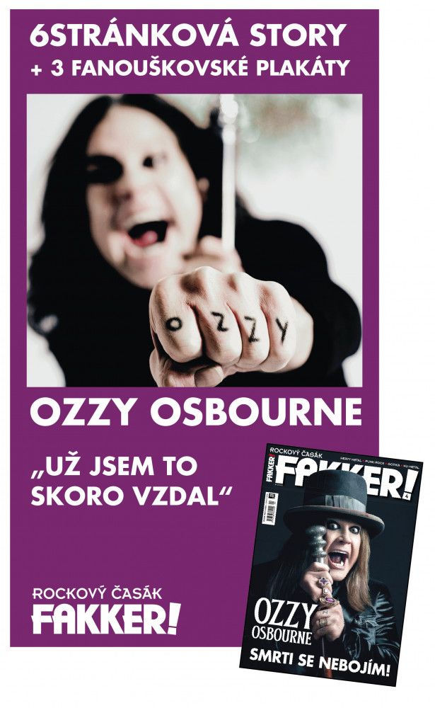Ozzy cover story 2020