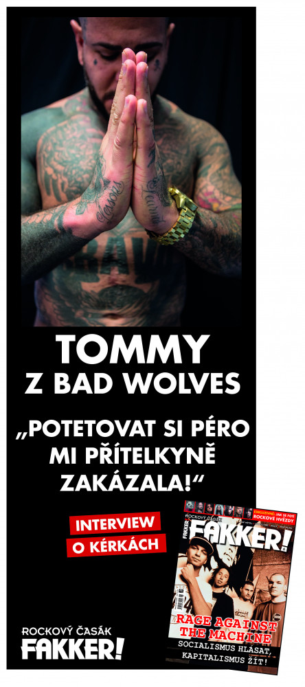 Tommy Vext - Bad Wolves F!