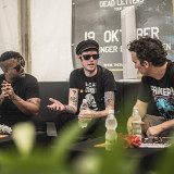 Nova Rock 2019 (den I) Sum 41 interview